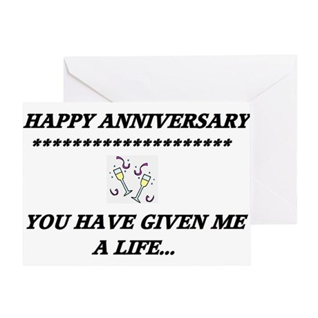 Anniversary... Greeting Card