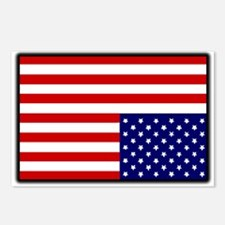DISTRESSED AMERICAN FLAG Postcards (Package of 8)