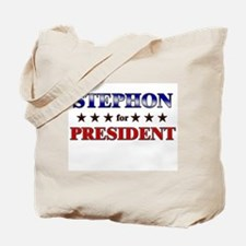 STEPHON for president Tote Bag