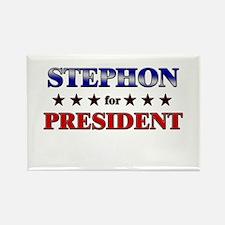 STEPHON for president Rectangle Magnet