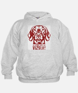 Cute Vizsla lover Hoody