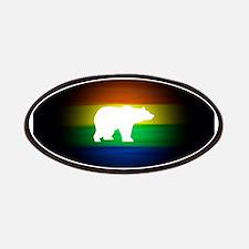 rainbow gay bear art Patch
