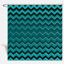 Black Ombre Shower Curtains | Black Ombre Fabric Shower Curtain Liner