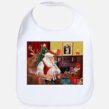 Santa's Ital Greyhound Bib