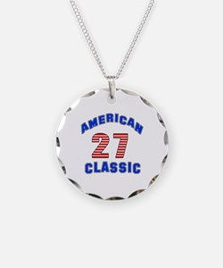 American Classic 27 Birthday Necklace
