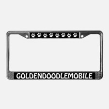 Goldendoodlemobile License Plate Frame