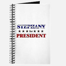 STEPHANY for president Journal