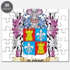 Alonso Coat of Arms (Family Crest) Puzzle
