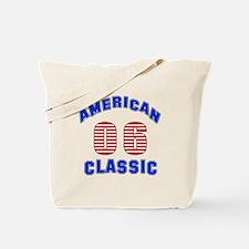 American Classic 06 Birthday Tote Bag