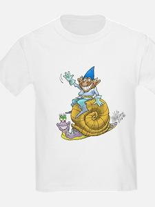 Funny Gnome illustrations T-Shirt