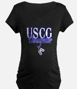 USCG Dog Tag Daughter T-Shirt