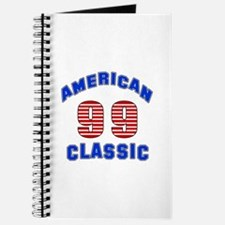 American Classic 99 Birthday Journal