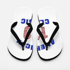 American Classic 100 Birthday Flip Flops