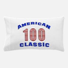 American Classic 100 Birthday Pillow Case