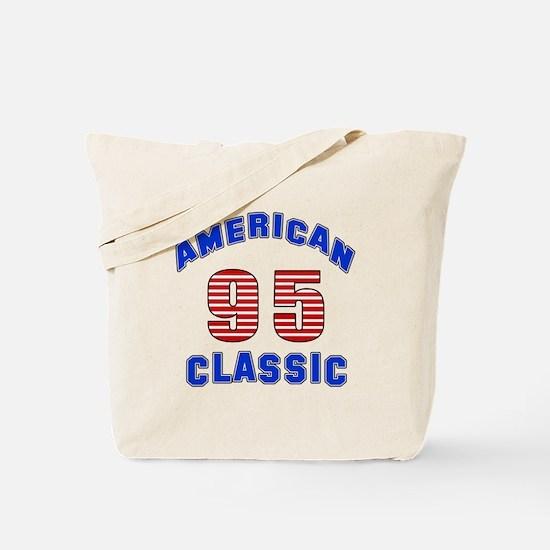 American Classic 95 Birthday Tote Bag
