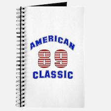 American Classic 89 Birthday Journal