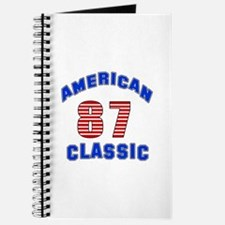 American Classic 87 Birthday Journal