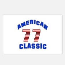 American Classic 77 Birth Postcards (Package of 8)