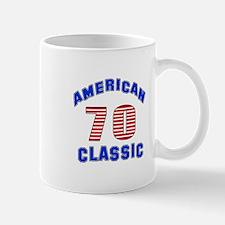American Classic 70 Birthday Mug