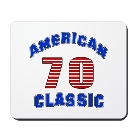 American classic 70 birthday mousepad by fashionadda for American classic house mouse