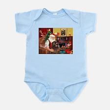 Santa's Newfoundland (br) Infant Bodysuit