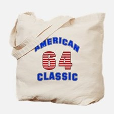 American Classic 64 Birthday Tote Bag