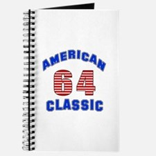 American Classic 64 Birthday Journal