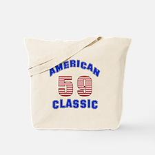 American Classic 59 Birthday Tote Bag