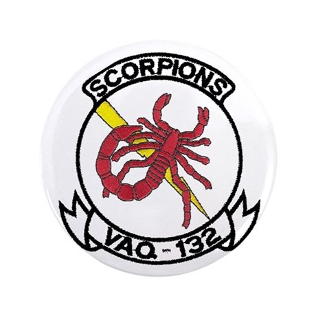 "VAQ 132 Scorpions 3.5"" Button"