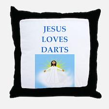 darts Throw Pillow