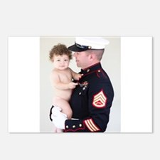 Marine Corp Daddy Postcards (Package of 8)