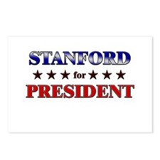 STANFORD for president Postcards (Package of 8)