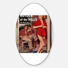 Cute Seduction Sticker (Oval)