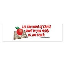 Colossians 3:16 Bumper Bumper Sticker