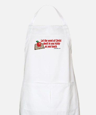 Colossians 3:16 BBQ Apron