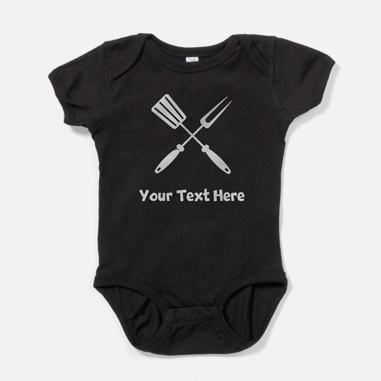 Grilling Utensils Baby Bodysuit