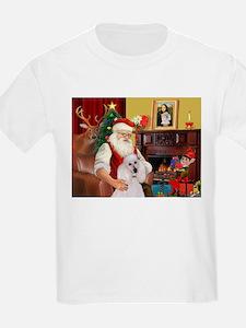 Santa's Std Poodle(w) T-Shirt