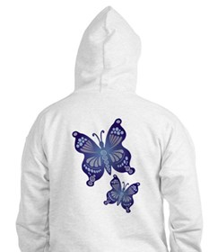 Butterfles in Flight Hoodie