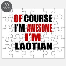 Of Course I Am Laotian Puzzle