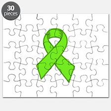 Lymphoma Ribbon Puzzle