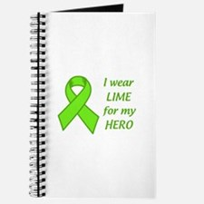 Wear Lime For My Hero Journal
