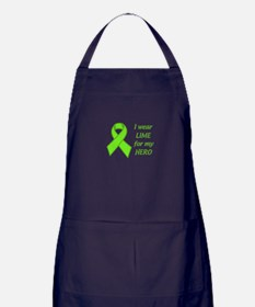 Wear Lime For My Hero Apron (dark)