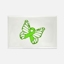 Lymphoma Butterfly Magnets