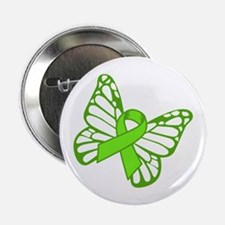 """Lymphoma Butterfly 2.25"""" Button (10 pack)"""
