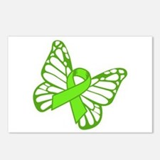 Lymphoma Butterfly Postcards (Package of 8)