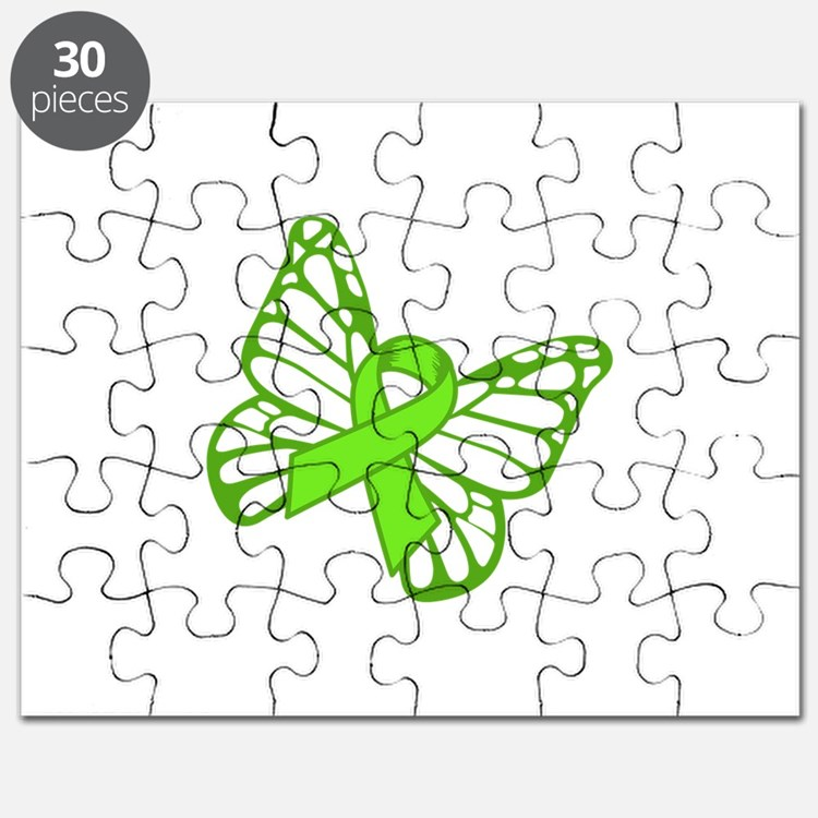 Lymphoma Butterfly Puzzle