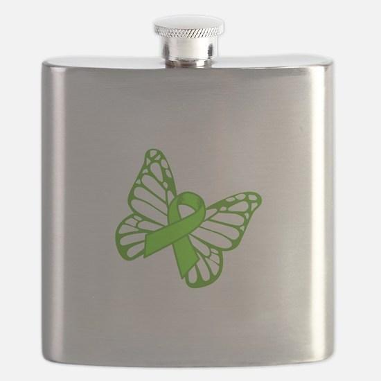 Lymphoma Butterfly Flask