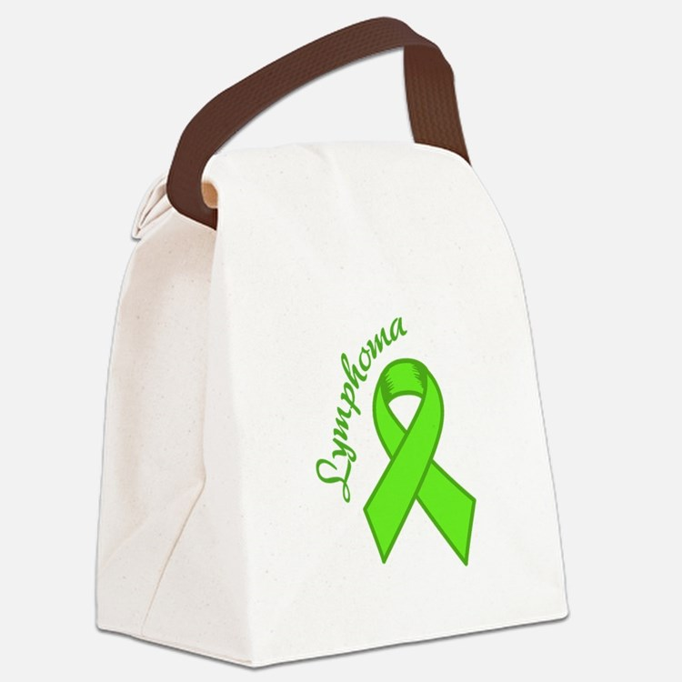 Lymphoma Awareness Canvas Lunch Bag