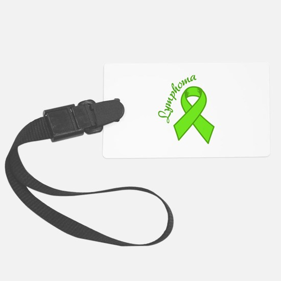 Lymphoma Awareness Luggage Tag