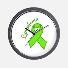 Lymphoma Awareness Wall Clock